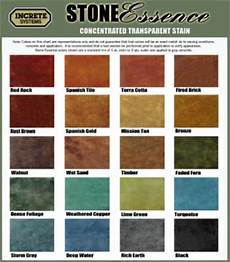 Cathedral Stone Color Chart Photos Amp Color Charts Decorative Concrete Of Virginia Va