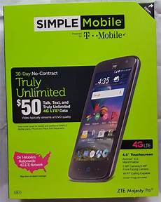 new 4g mobile new simple mobile zte majesty pro lte z798 4g android