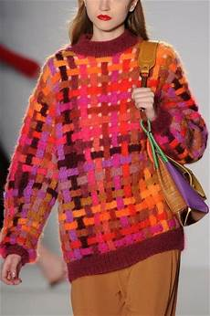 knitting inspiration and runway on