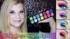 Rose Bright Lights Palette Review Rose Bright Lights Review Swatches Amp 5 Looks