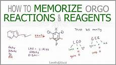 Organic Reactions How To Memorize Organic Chemistry Reactions And Reagents