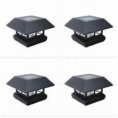 Outdoor Solar Post Cap Lights Deck Patio Fence Led Solar Post Cap Light Lamp Outdoor