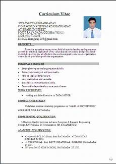Word Document Sample Resume Sample In Word Document Mba Marketing Amp Sales