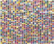 The Color Of Chart Beadbag Colour Charts