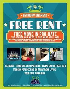 Free Apartment Advertising 300atc Free Rent Flyer Flyer Modern Bedroom Design