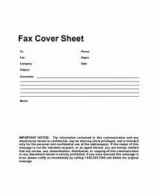 Fax Form Templates Free 8 Sample Generic Fax Cover Sheet Templates In Pdf
