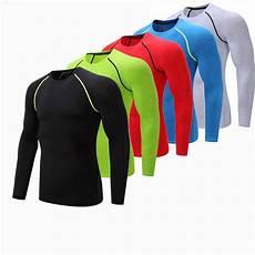 mens sports shirts sleeve fitness sleeve running sports t shirt clothing