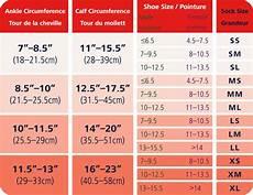 Activa Compression Socks Size Chart Sigvaris Running Compression Socks For Men And Women