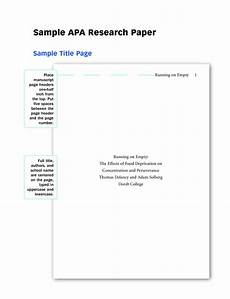 Paper Cover Page Template Research Paper Template Templates At
