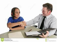 Successful Jobs Successful Job Interview Stock Image Image Of Meeting
