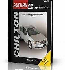 ObsŁuga I Naprawa Samochodu Saturn Ion 2003 2007