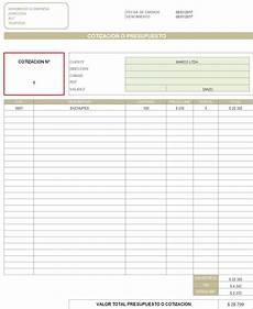 Formato Para Cotizacion En Word Web Del Brito Formato De Cotizacion En Excel Para