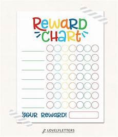 School Progress Chart Reward Chart Digital Kids Reward Chart Progress