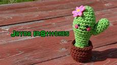 amigurumi cactus in a pot crochet tutorial