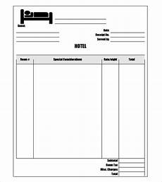 Hotel Receipt Template Pdf Free 18 Sample Hotel Receipt Templates In Google Docs