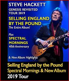 genesis tour 2019 hackettsongs steve hackett official website