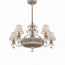 Fancy Fans With Lights India Products 183 Fandelier 5 Light White 183 Savoy House Europe S
