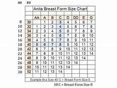 85 Cm Size Chart Size Amp Fitting Guide Erilan Mastectomy Collection