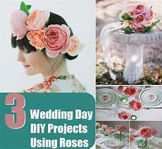 wedding day diy projects using roses diy home things