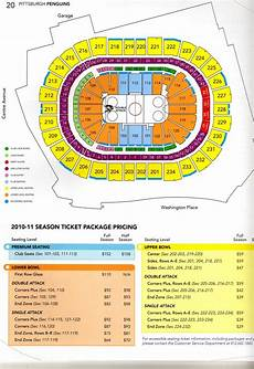 Seating Chart Penguins Game Penguins Season Ticket Holders In For A Pleasant Surprise