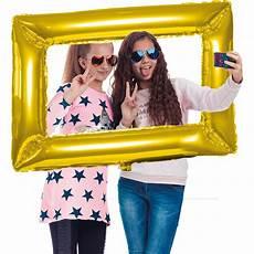firkantet ramme folieballon firkantet selfie ramme guld k 248 bes hos