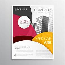 Front Page Design Template Modern Company Brochure Or Leaflet Template Design With
