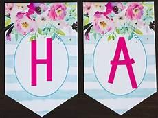 Free Happy Birthday Banner Printables Free Printable Birthday Banner Six Clever Sisters