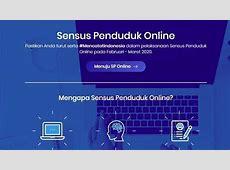 Cara Isi Data Sensus Penduduk 2020 Online di www.sensus