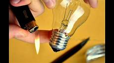 Make A Light Bulb Easy How To Cut Open A Light Bulb Without Breaking It