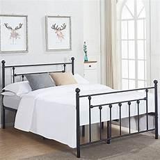 vecelo size bed frame metal platform mattress
