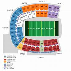 Ford Stadium Seating Chart Gerald J Ford Stadium Dallas Tickets Schedule