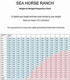 Healthy Horse Weight Chart Horseback Riding Weight Limit Blog Dandk