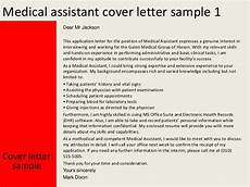 Clinical Assistant Cover Letter Medical Assistant Cover Letter