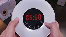 Best Wake Up Alarm Clock Light Sunrise Alarm Clock By Joyful Heart Best Wake Up Light