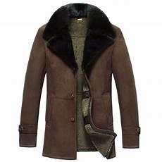 shearling coats for mens sheepskin shearling winter coat cw877039