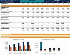 Financial Statements Excel Three Statement Financial Excel Model Eloquens