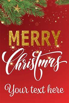 Chrismas Posters 24 Quot X 36 Quot Quot Merry Christmas Quot Shop Window Poster Red Holiday