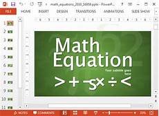 Math Powerpoint Presentation Animated Math Equations For Powerpoint
