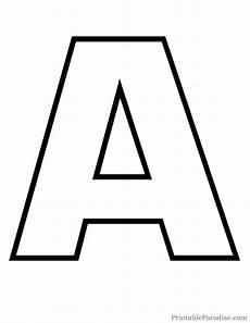 Letters Template 4 Alphabet Outline Templates Pdf Free Amp Premium Templates