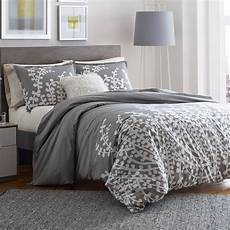city branches gray comforter and duvet set from
