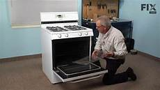 How To Light Electric Stove Magic Chef Range Repair How To Replace The Short Oven