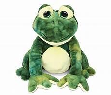 puzzled stylish squat frog soft polyester plush