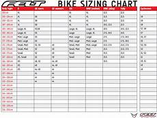 Bicycle Inner Tube Size Chart Bike Sizing