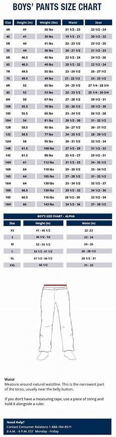 Boys Jeans Size Chart Size Charts Jeans Size Chart Wrangler Jeans Size Chart
