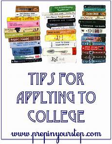 Tips For Starting College Tips For Applying To College Prep In Your Step Bloglovin