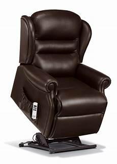ashford standard leather electric riser recliner