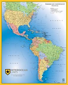 World Map Of North And South America Gabelli Us Inc V3 2013