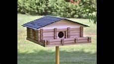 log cabin birdhouse kit plans