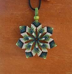macrame mandalas mandala macrame green snowflake seven pointed