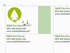 Business Cards In Word 3 Ways To Make Business Cards In Microsoft Word Wikihow